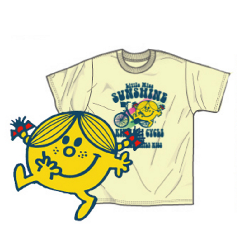 Tシャツ(Mr. Men Little Miss Bイエロー)