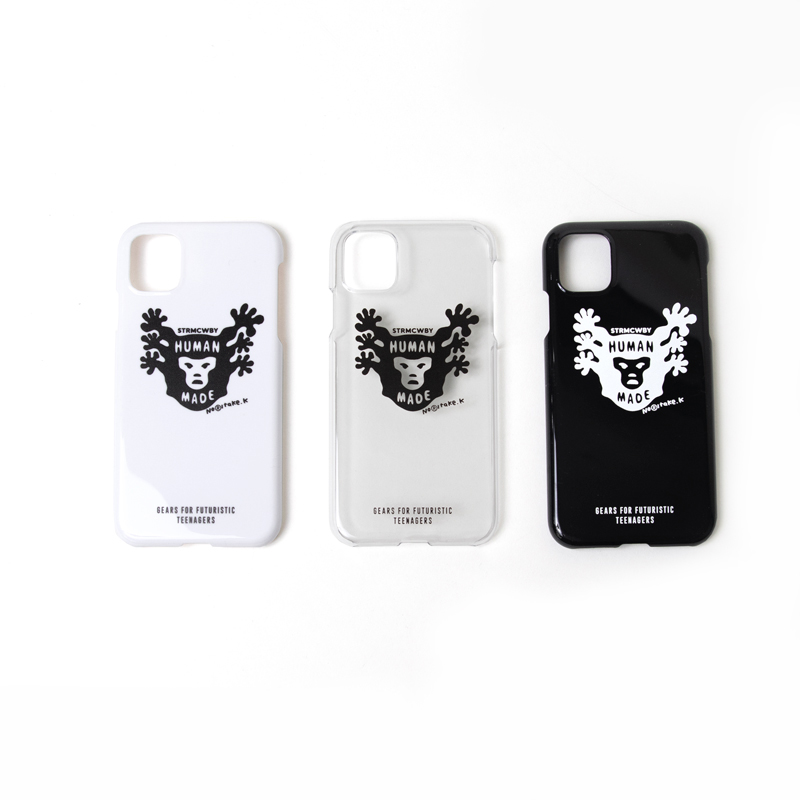 [HUMAN MADE × 木梨憲武] IPHONE11/11pro CASE STRMCWBY